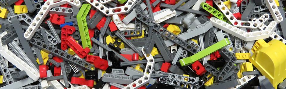 Parts /& Pieces 4142135 5 x Lego Black Technic 5M beam